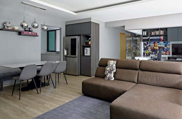 Cosy apartment is perfect for three generations